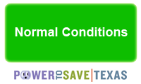 Green - Normal Conditions - Conservation Encouraged